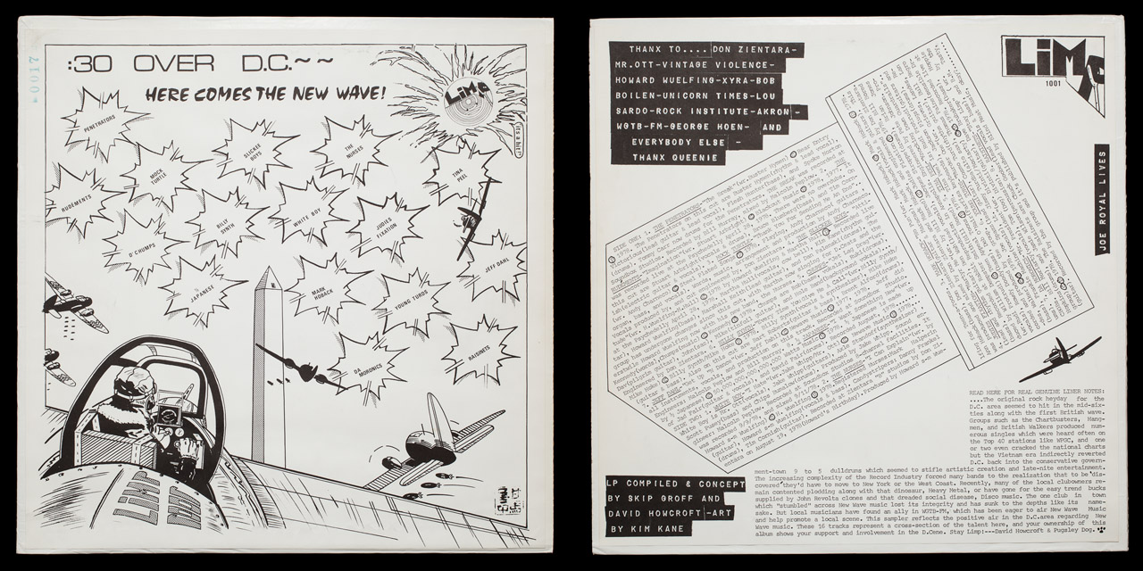 30 Seconds Over DC first press covers on Limp Records