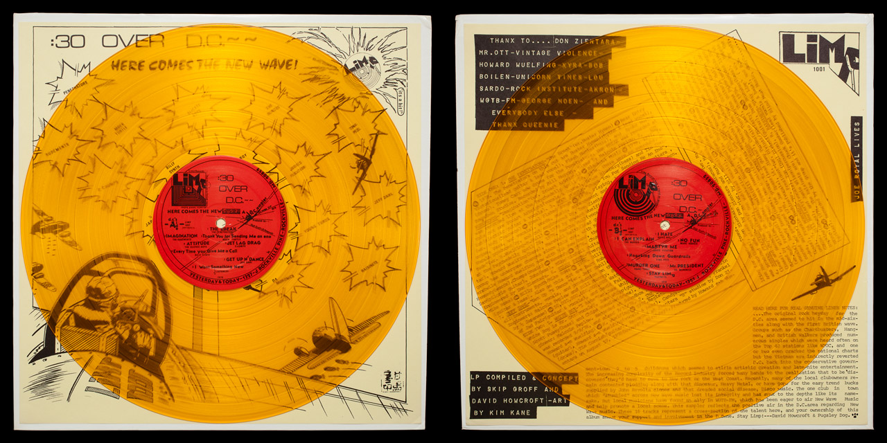 30 Seconds Over DC second press vinyl on Limp Records