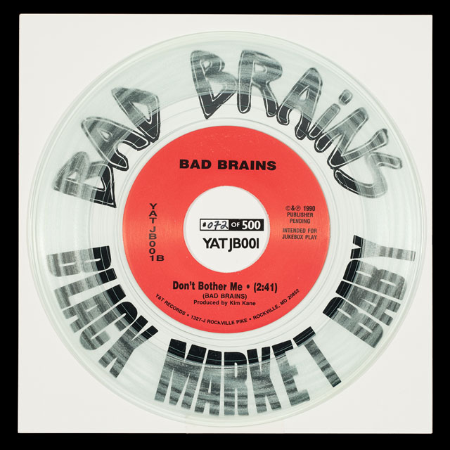 Black Market Baby/Bad Brains 45 on Yesterday and Today Records