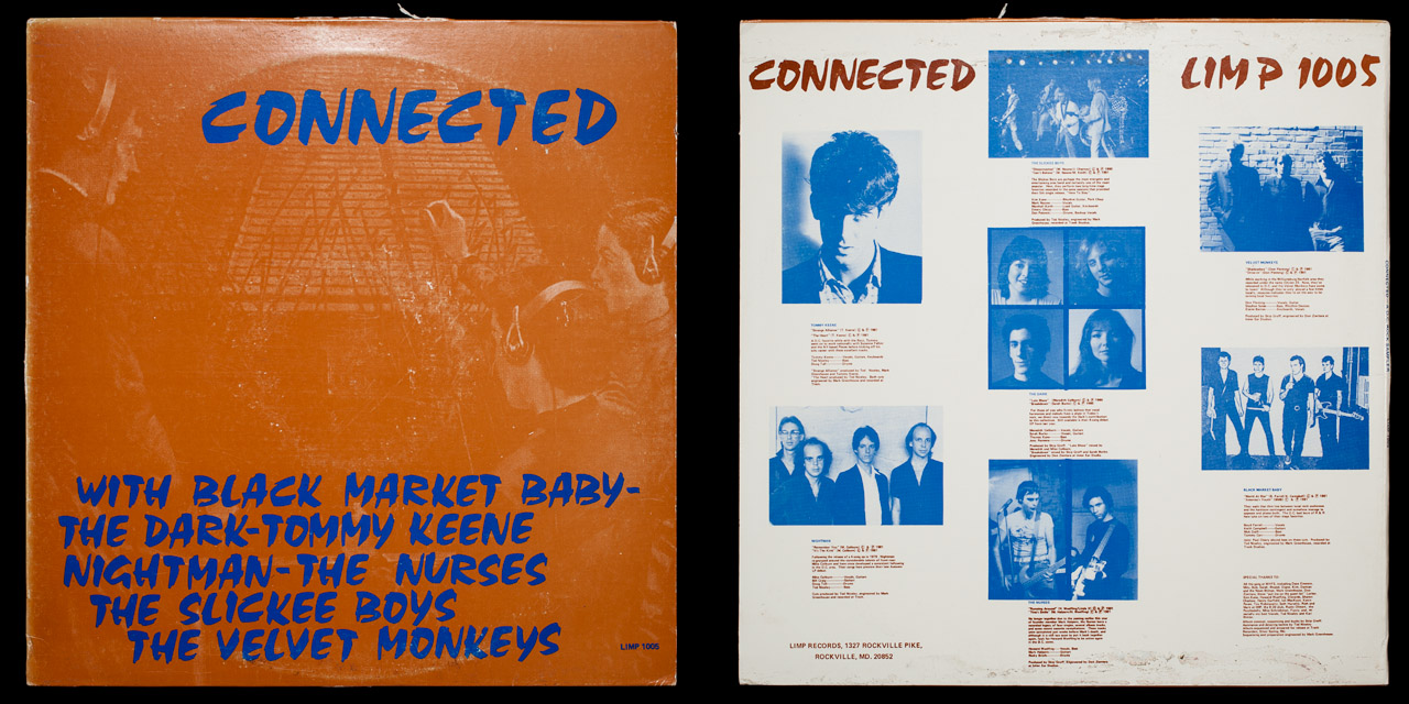Connected first cover on Limp Records