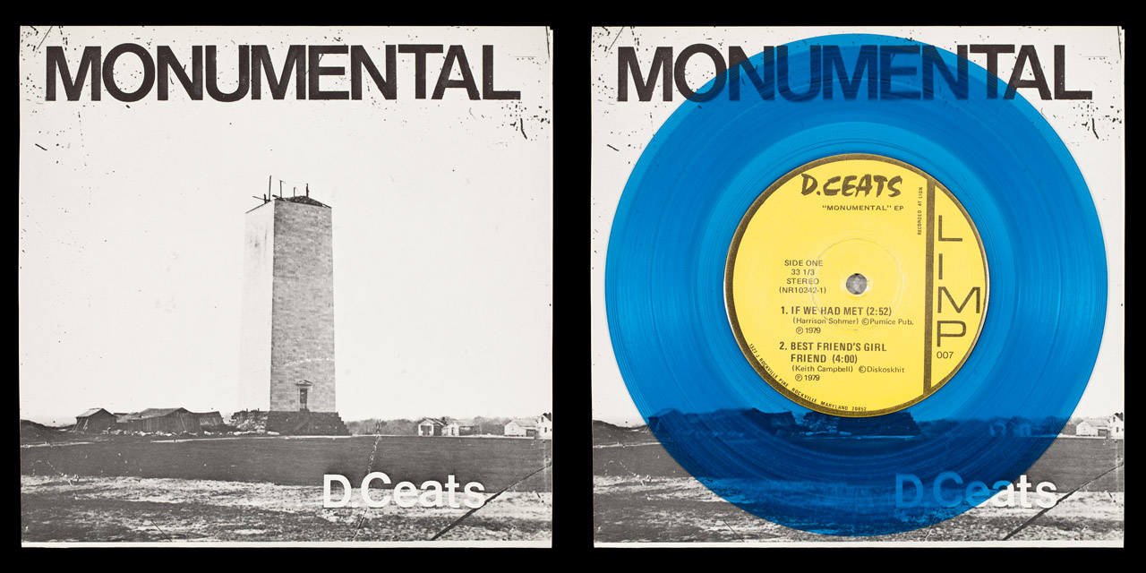 D.Ceats Monumental front cover and vinyl on Limp Records