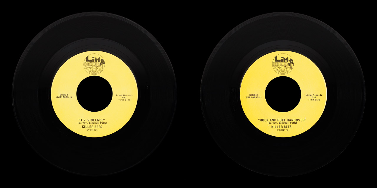 Killer Bees vinyl on Limp Records