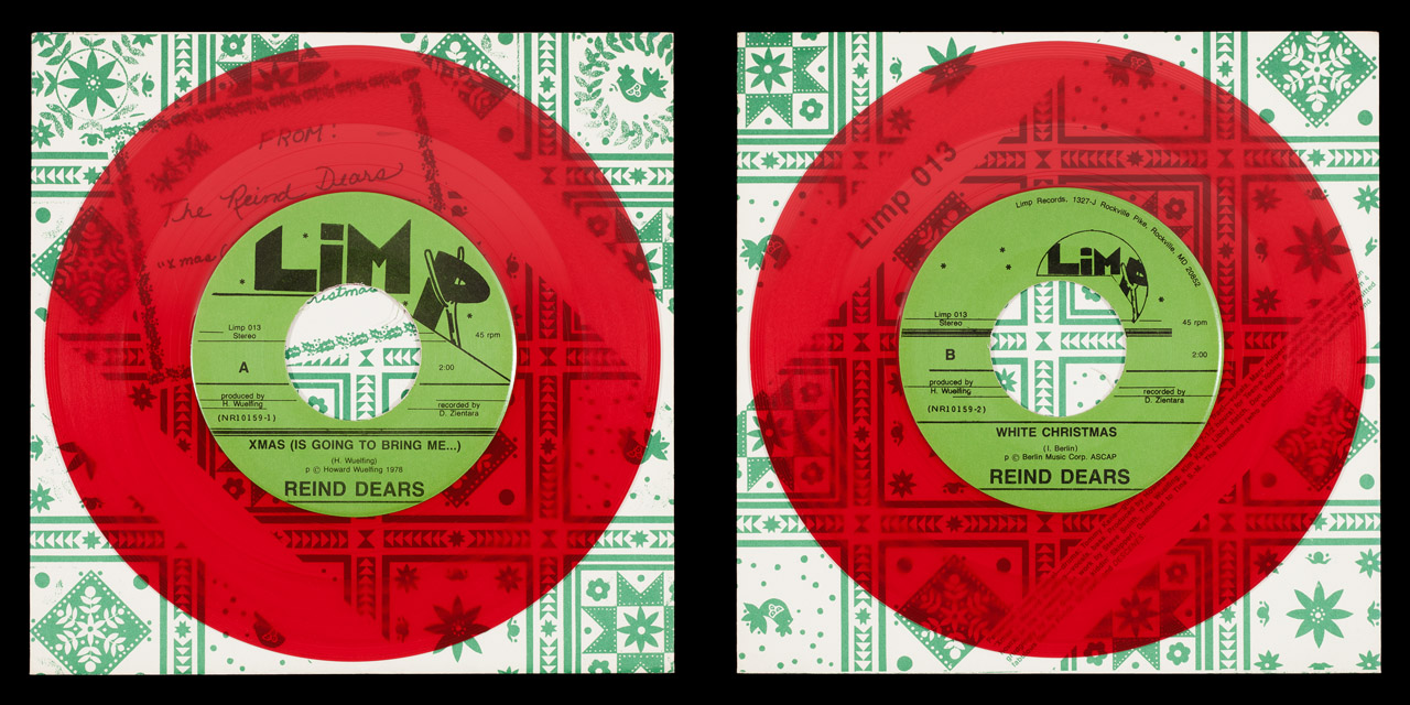 Reind Dears Xmas red vinyl on Limp Records