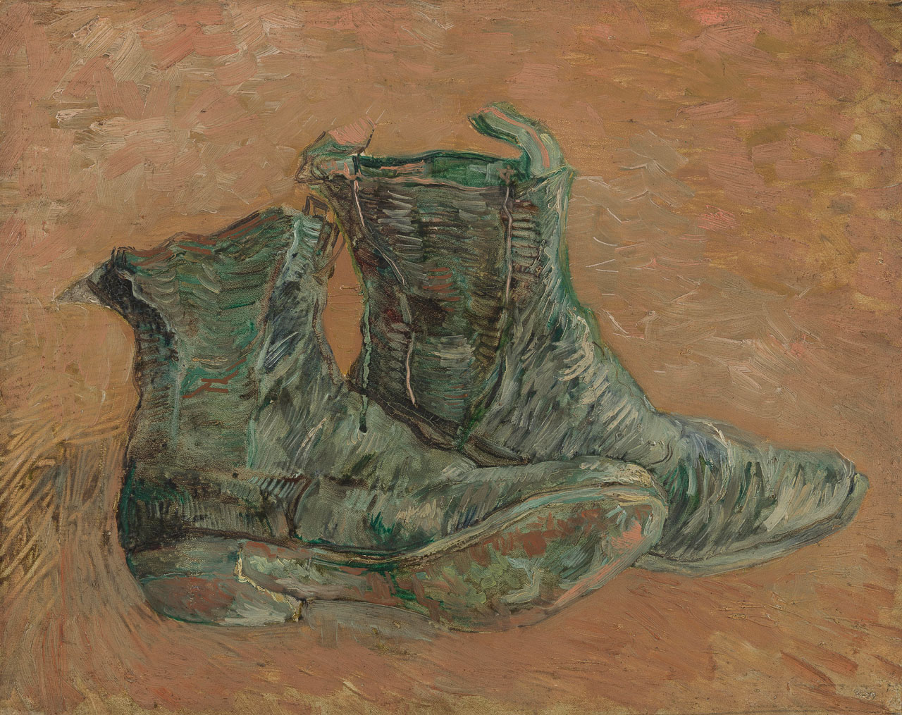 Vincent van Gogh: Shoes (F461, JH 1569), Metropolitan Museum of Art 1992.374